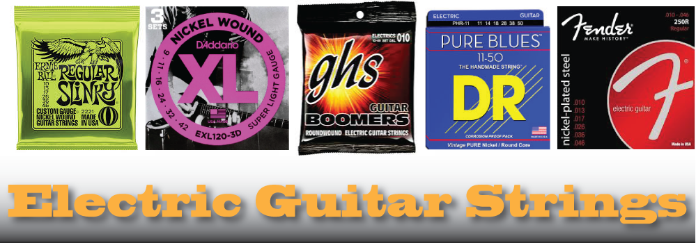 How to Choose the Best Strings For Electric Guitar and Bass Guitar
