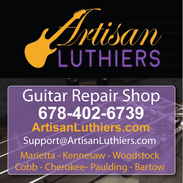 guitar repair shop kennesaw ga- luthiers