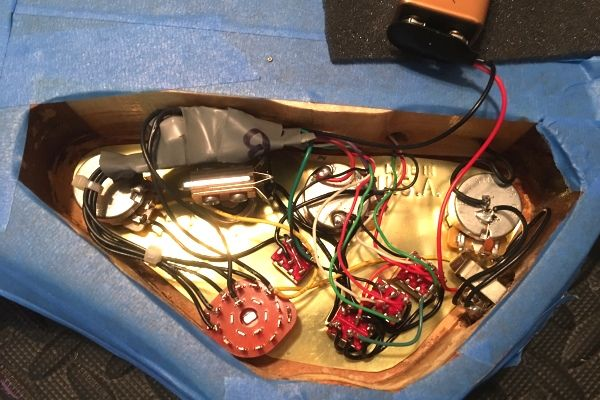 Bass active wiring repair, upgrade, conversion