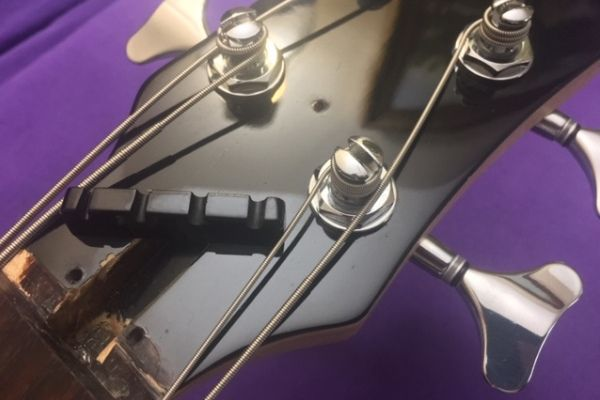 Guitar and bass nut repair and replacement