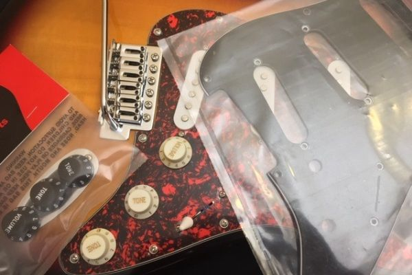 Pickguards, Knobs, TremCovers amp: Back Plates